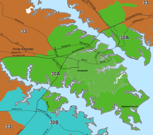 Maryland District 30 - Annapolis, Anne Arundel County