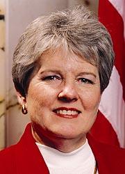Freshman Senator Gail Bates (R)